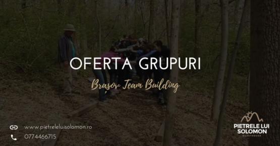 Oferta grupuri team building Brasov