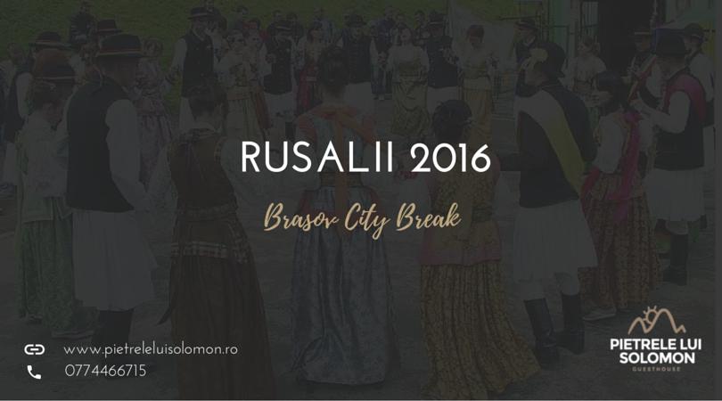 City Break Brasov - Cazare Pietrele lui Solomon