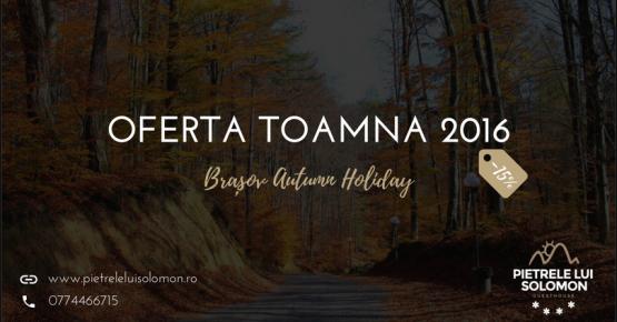 Oferta cazare Brasov toamna-nov-2016
